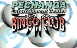 Pechanga Casino - Temecula Calif - BLANK Slot Card - Casino Cards
