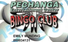 Pechanga Casino - Temecula Calif - Slot Card - Casino Cards
