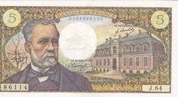 5 Francs PASTEUR 7/12/1967,lire Description - 1962-1997 ''Francs''
