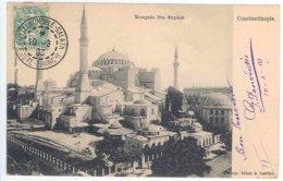 TURQUIE - CONSTANTINOPLE - Mosquée Ste Sophie - Turkije