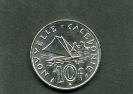 Pièce De 10 Francs De Nouvelle Calédonie Année 1999 - Nieuw-Caledonië
