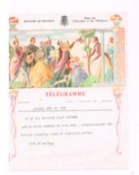 Télégramme De Naninne à Naninne.(Mariage) - Telegraph