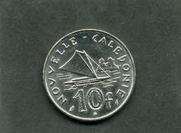 Pièce De 10 Francs De Nouvelle Calédonie Année 1977 - Nieuw-Caledonië
