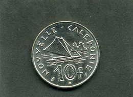 Pièce De 10 Francs De Nouvelle Calédonie Année 1986 - Nieuw-Caledonië