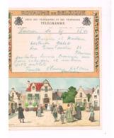 Télégramme De Haversin à Naninne (Mariage) - Telegraph
