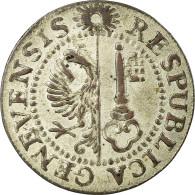 Monnaie, SWISS CANTONS, GENEVA, Sol, 1785, TTB+, Billon, KM:87 - Suisse