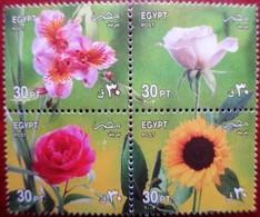 Egypt  2003  Flowers  MNH - Flora