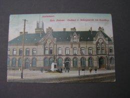 Rathenow , Postamt Mit Bahnpost Berlin1912 - Rathenow