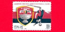 ITALIA - Usato - 2018 - 125 Anni Di Genoa Cricket And Football Club -  B - 6. 1946-.. República