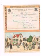 Télégramme De Solre-sur-Sambre à Bersillies L'Abbaye. - Télégraphes