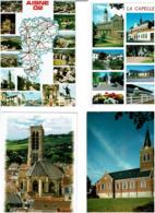 02 / AISNE /  Lot De 90 Cartes Postales Modernes écrites - Postcards