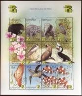 Grenada 2000 Stamp Show Animals Birds Fish Turtles Sheetlet MNH - Briefmarken