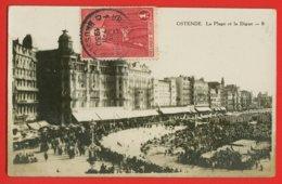 893 - BELGIQUE - OSTENDE - La Plage Et La Digue - Oostende