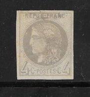 France émissions De Bordeaux De 1870 N°41B Neuf * Cote 200€ - 1870 Emisión De Bordeaux