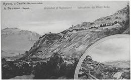 GRENOBLE (L'AIGLONNIERE) - FUNICULAIRE DU MONT JALLA - SUPERBE - 1907 - Grenoble