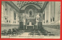 907 - BELGIQUE -  BRUGELETTE - Institut St. Louis - Intérieur De La Chapelle - Brugelette