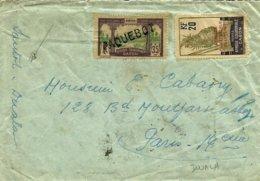 """Oblitération """" PAQUEBOT"""" De DOUALA à PARIS - 1933 - - Brieven En Documenten"""
