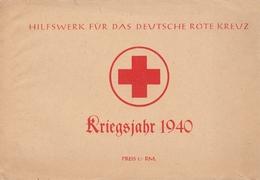 Hilfswerk Für Das Deutsche Rote Kreuz 1940  2 Karten Inklusive - Allemagne