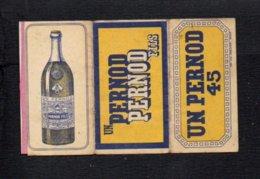 """Pochette Papier Pour Tabac à Rouler Ou Cigarettes """" Pernod 45 """" - Non Classés"""