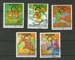 Khmère Poste Aérienne N°31M à 31R Cote 7.50 Euros - Cambodia