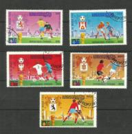 Khmère Poste Aérienne N°31T à 31X Cote 7.50 Euros - Cambodia