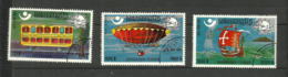 Khmère Poste Aérienne N°A31Z à 31AB Cote 3 Euros - Cambodia