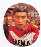 Chromo - Wielrennen Cyclisme - Coureur - Wielrenner - Eddy Merckx - Ploeg Faema - Cyclisme