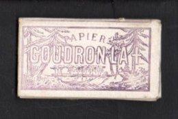 """Pochette Papier Pour Tabac à Rouler Ou Cigarettes """" Goudron La + """" Lacroix Fils - Around Cigarettes"""