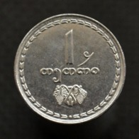 Georgia 1 Tetri 1993, Km76 Asian Coin, UNC - Georgia