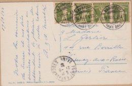CARTE  TIMBRE 1938 BAHNPOST  A FONTENAY AUX ROSE FRANCE VOIR PHOTOS - Poststempel