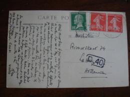 Daguin Saint Quay Portrieux Omec Flamme Sur Lettre - Storia Postale