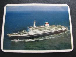 USSR Soviet Russia  Pocket Calendar Black Sea Shipping Company Ship 1970 - Small : 1961-70