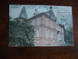 Carte  Colorisee Saint Michel De Livet Chateau - France