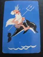 USSR Soviet Russia  Pocket Calendar Black Sea Shipping Company Ship 1970 - Calendriers
