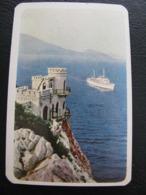 USSR Soviet Russia  Pocket Calendar Black Sea Shipping Company Ship 1969 - Calendars