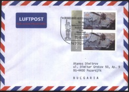 Mailed Cover (letter) With Stamp Space ESA - Mission Rosetta 2019 From Germany - Cartas