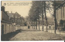 16 Gent Gand Klein Begijnhof Met Stempel.  Perfecte Staat. Zie Scans - Gent