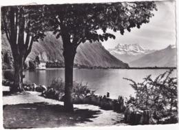 Chateau De Chillon Et Les Dts. Du Midi - (1958) - VD Vaud