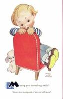 Mabel Lucie Atwell Missing You Spmething Awful ! Vous Me Manquez ,c'en Est Affreux ! RV - Cartes Humoristiques