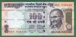 India Inde Indien - 100 Rupees / INR Banknote P-105q - 2014 UNC (letter L) Raghuram G. Rajan - As Scan - India