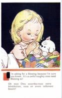 Mabel Lucie Atwell Oh ,mon Dieu ,accordez Nous Votre Bénédiction ,nous En Avons Telleùent Besoin !  RV - Cartes Humoristiques
