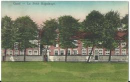 21 Gent Gand  Klein Begijnhof Met Postzegel.  Perfecte Staat. Zie Scans - Gent