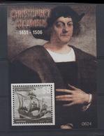 B 6 - Lot 82 - Dominique ** Bloc N° 519 - Christophe  Colomb - Dominique (1978-...)