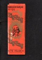 """Pochette Papier Pour Tabac à Rouler Ou Cigarettes """" ZIG ZAG  """" Braunstein Frères Paris - Around Cigarettes"""