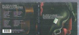 """2 CD   MAXIME LE FORESTIER  - """" PLUTOT GUITARE  -  28 TITRES - Musik & Instrumente"""