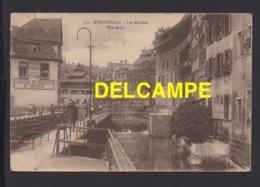 DD / 67 BAS RHIN / STRASBOURG / LES MOULINS / MOULINS À CRAIE AUGUSTE PEPLPLER / ANIMÉE / 1921 - Strasbourg