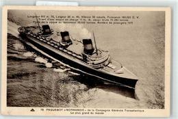 53118504 - Dampfer Normandie - Barcos