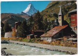 Zermatt Et Le Cervin, Alt. 4482 M. - Zermatt Und Matterhorn - VS Valais