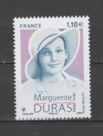 FRANCE / 2014 / Y&T N° 4850 ** : Marguerite Duras - Gomme D'origine Intacte - Nuevos