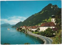 Gersau Am Vierwaldstättersee Mit Pilatus Und Gersauerstock - SZ Schwyz